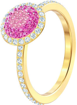 Swarovski No Regrets Ring, Multi-colored, Gold plating