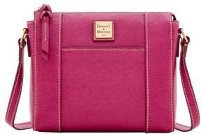 Dooney & Bourke Saffiano Lexington Crossbody Shoulder Bag - VIOLET - STYLE