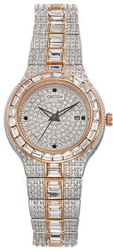 Croton Women's Austrian Crystal Two Tone Watch - CN207540TTPV