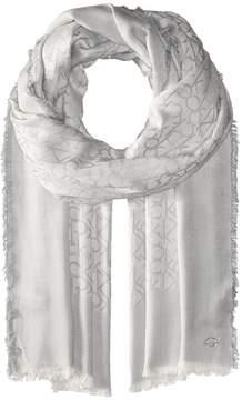 Calvin Klein Border Logo Scarf Scarves