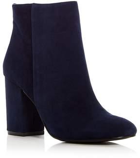Kenneth Cole Women's Caylee Suede High Block Heel Booties