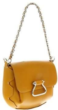 Roberto Cavalli Gwb037 Pz003 D2216 Curry Yellow /silver Shoulder Bag