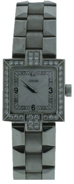Concord La Scala 18K White Gold Diamond Watch