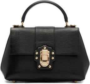 Dolce & Gabbana Black Medium Lucia Bag