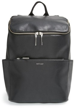 Matt & Nat 'Brave' Faux Leather Backpack - Black