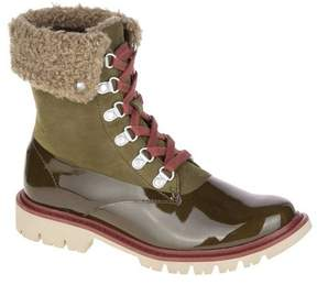Caterpillar Women's Hub Hiker Fur Ankle Boot