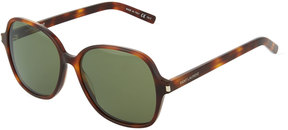 Saint Laurent Classic 8 Acetate Rounded Sunglasses