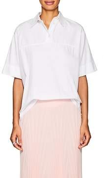 Cédric Charlier Women's Oversized Cotton Poplin Shirt