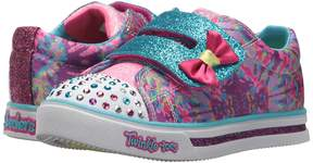 Skechers Sparkle Glitz 10847N Lights Girl's Shoes