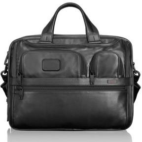 Tumi Men's 'Alpha 2' Expandable Laptop Briefcase - Black