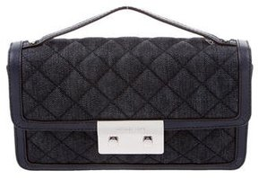 Michael Kors Denim & Leather Bag