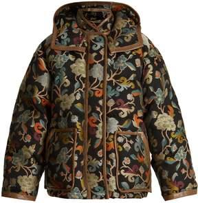 Etro Mandala floral-jacquard quilted jacket