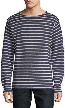 Save Khaki Men's Textured Stripe Sweater