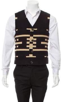 Pendleton Virgin Wool V-Neck Vest w/ Tags