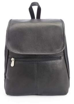 Royce New York Leather Tablet Travel Backpack