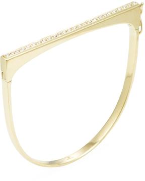 Amrapali Women's 18K Yellow Gold & 0.51 Total Ct. Diamond Flat Top Bangle Bracelet