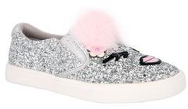Nina Girl's Ragina Faux Fur Slip-On Sneaker