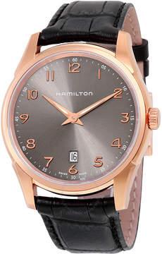 Hamilton Jazzmaster Thinline Grey Dial Men's Watch