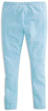 Vineyard Vines Girls' Whale-Print Leggings - Little Kid