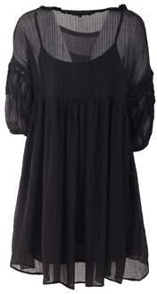 BRIGITTE Bardot Women's Black Polyester Dress.