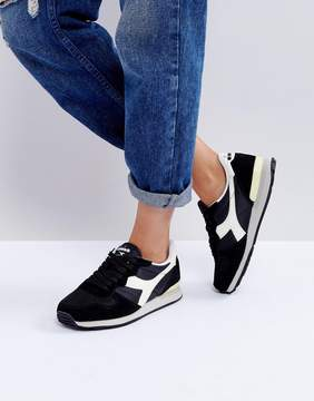 Diadora Camaro Sneakers In Black