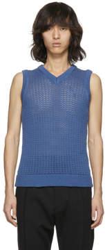 Acne Studios Blue Nuruy Sweater Vest