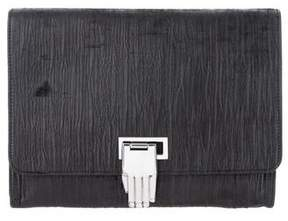 Opening Ceremony Nokki Leather Clutch