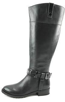 INC International Concepts Womens Fabbaa Wide Calf Leather Closed Toe Mid-cal....
