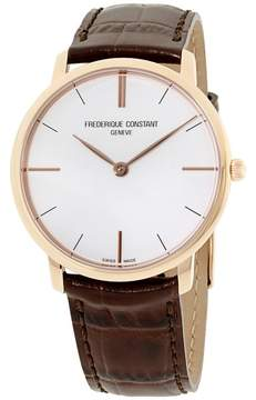 Frederique Constant Slimline FC200V5S34 Rose Gold Tone Stainless Steel 39mm Mens Watch