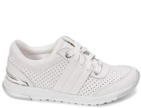 Foot Petals Bea Perforated Leather Sneaker with Cushionology