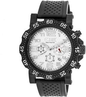 Equipe Tritium Rivet Chronograph White Dial Men's Watch
