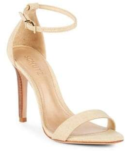 Schutz Cadey-Lee Ankle-Strap Sandals
