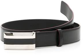 Versace Textured Calfskin Belt