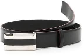 Versace Textured Calfskin Belt