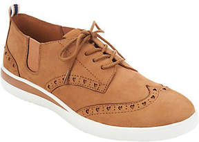 ED Ellen Degeneres Leather Lace-up Sneakers - Averie