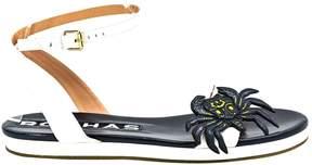 Rochas Leather sandal