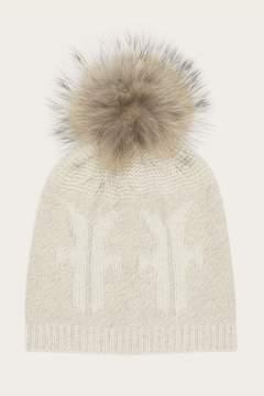 Frye | Logo Pom Hat | Ivory