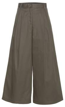 Valentino Wide-legged wool trousers