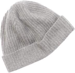 Portolano Men's Grey Cashmere Hat