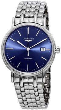 Longines Presence Automatic Blue Dial Men's Watch