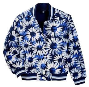 Tommy Hilfiger Printed Baseball Jacket (Big Girls)