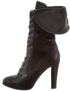 Reed Krakoff Lace-Up Mid-Calf Boots