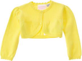 Chicco Girls' Yellow Cardigan