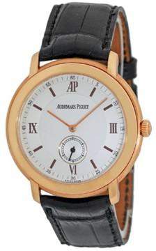Audemars Piguet Classique 18K Rose Gold Mens Strap Watch