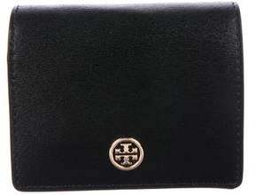 Tory Burch Logo Leather Wallet
