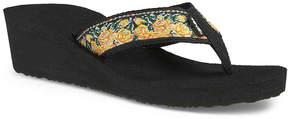 Teva Women's Mush Mandalyn II Wedge Flip Flop
