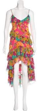 Betsey Johnson Tiered Midi Dress