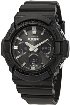 Casio G-Shock Alarm World Time Black Dial Men's Watch