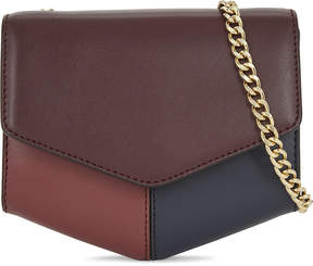 Sandro Lou petite leather cross-body bag