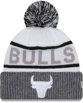 New Era Chicago Bulls Court Force Pom Knit Hat